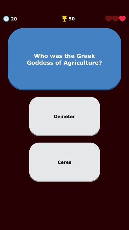 Greek Mythology Quiz - Greece screenshot-5