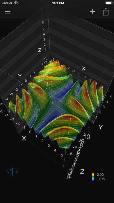 Visual Math 4Dのスクリーンショット