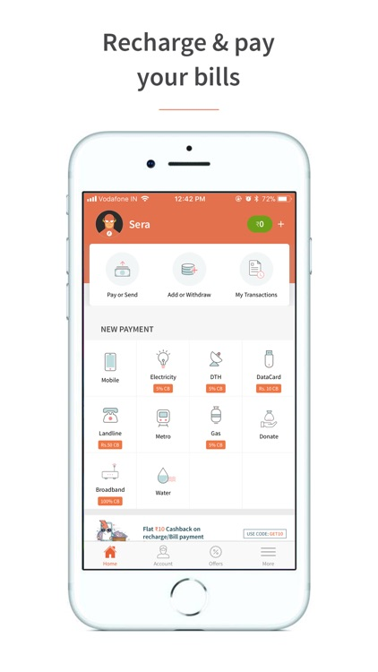 Freecharge - Payments & Wallet screenshot-0