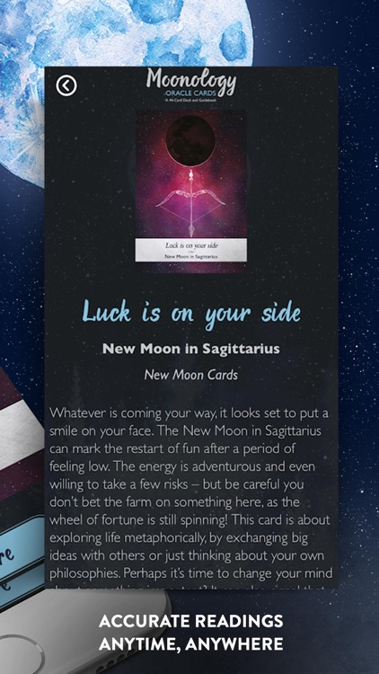 Moonology Oracle Cards screenshot-4