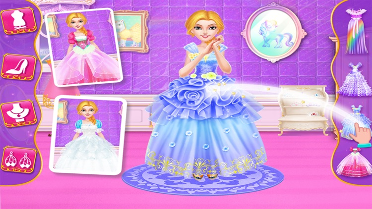 Rainbow Unicorn Princess screenshot-4