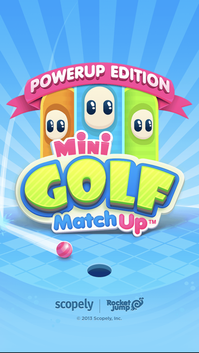 Mini Golf MatchUp Screenshot