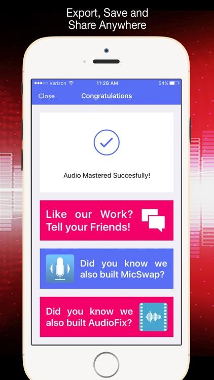 AudioMaster Pro screenshot-7