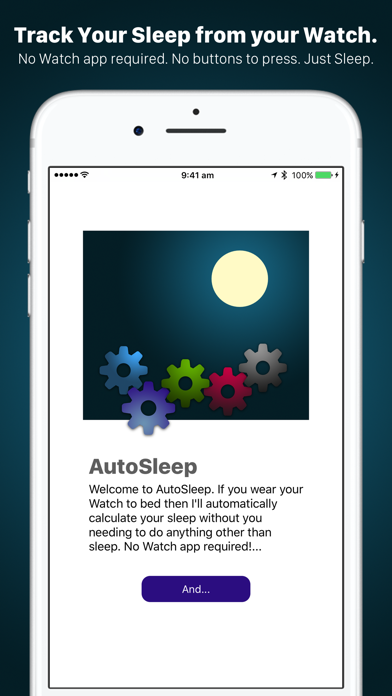 AutoSleep Tracker for Watch Screenshots