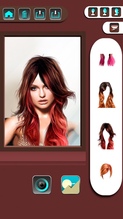Change your look editor with hairstyles screenshot-3