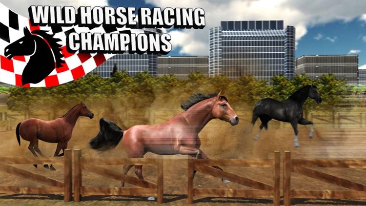 Wild Horse Racing Champions