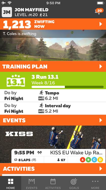 Zwift Companion – (iOS Apps) — AppAgg