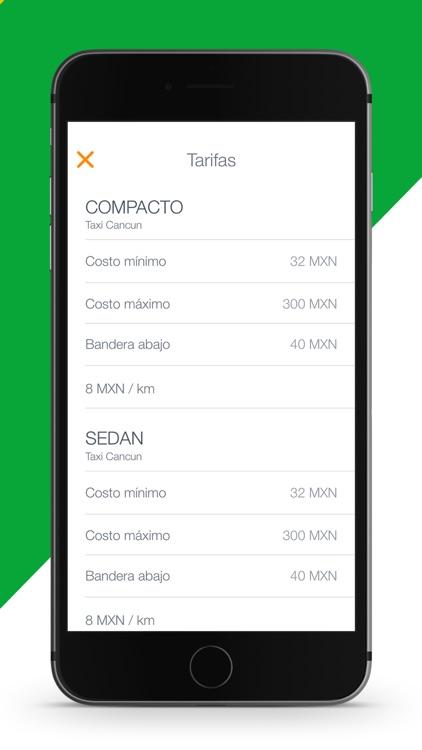 Taxi Cancun: transport in QROO screenshot-3
