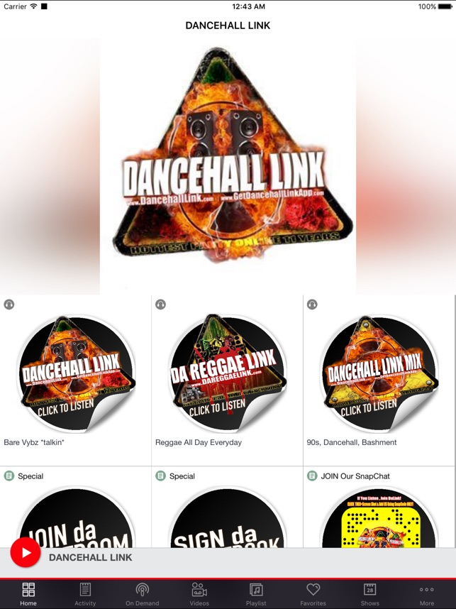 DANCEHALL LINK on the App Store