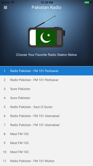 Pakistan Radio Station FM Live on the App Store
