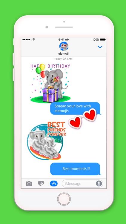 EleMoji - Elephant Emojis & Stickers screenshot-3