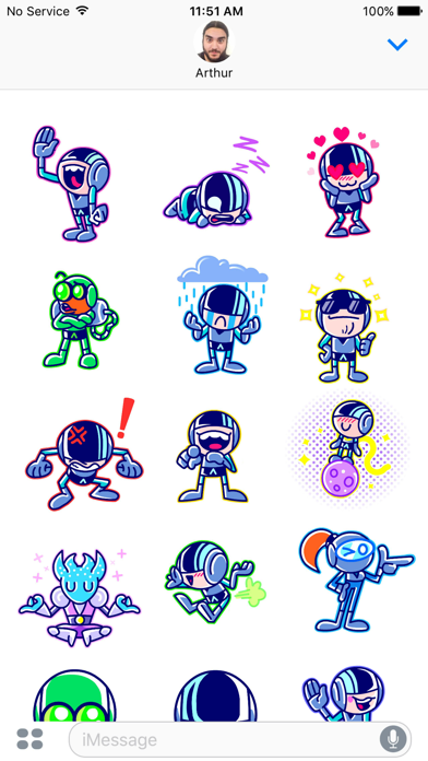 Iron Marines Stickers Screenshot
