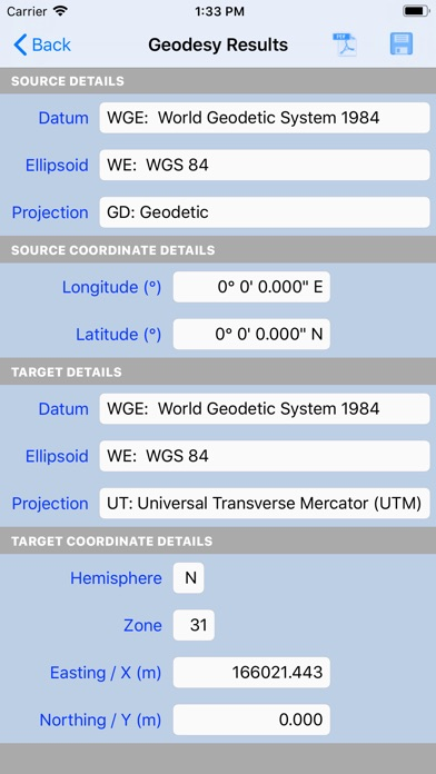 Screenshot for Geodesy in United States App Store