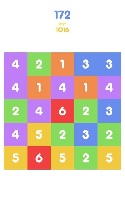 Number Tap - Merge Blocks