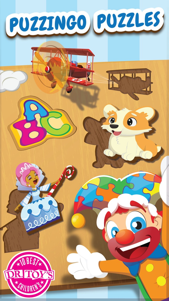 Puzzingo Toddler Kids Puzzles Screenshot