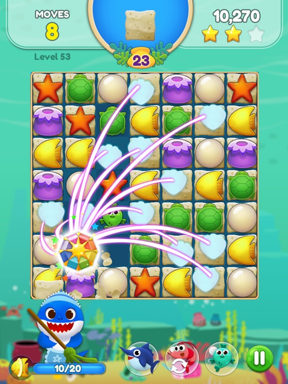 Baby Shark Match: Ocean Jam screenshot 11