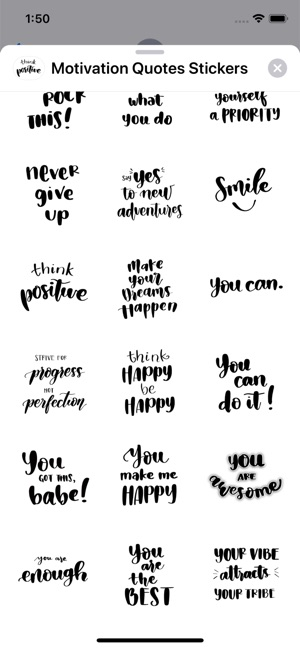 Motivation Quotes Stickers