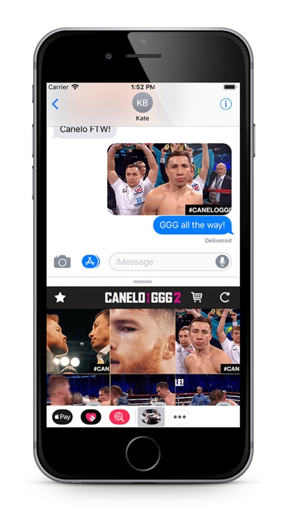 Canelo VS GGG 2 Stickers screenshot-3