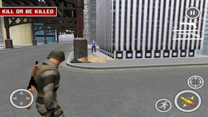 Lion Attack City:Shoot Mission screenshot two
