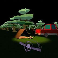 Camping with Baldi