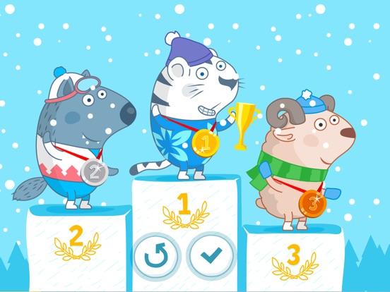 B&B Зимний спорт для iPad