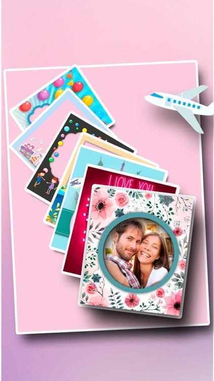 Make photo frames to share