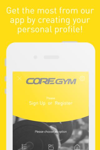 Core Gym screenshot 2