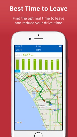 Real Time Internet Traffic Map.Inrix Traffic On The App Store