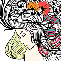 Colorgirl - Coloring Book App on the App Store