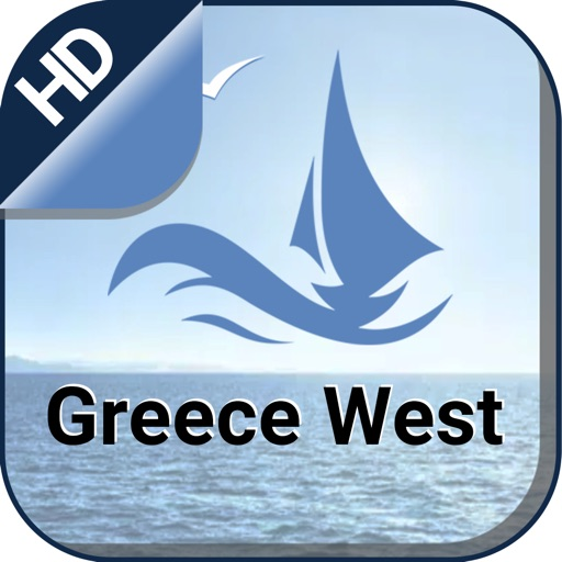 Western Greece nautical offline gps marine chart