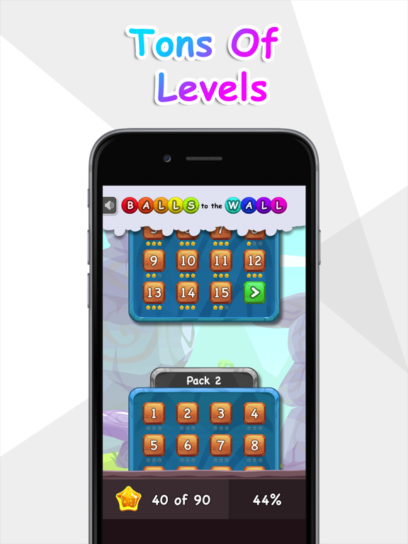 Balls to the Wall - a sliding puzzle screenshot 4