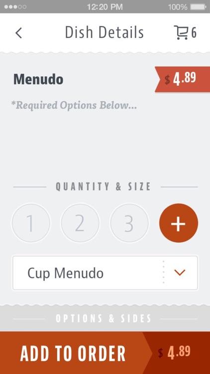 Cuca's Mexican Food screenshot-3