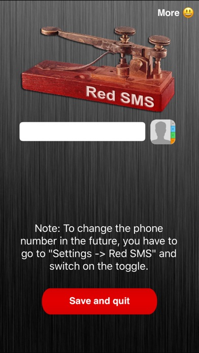 Screenshot for Red SMS in Lebanon App Store