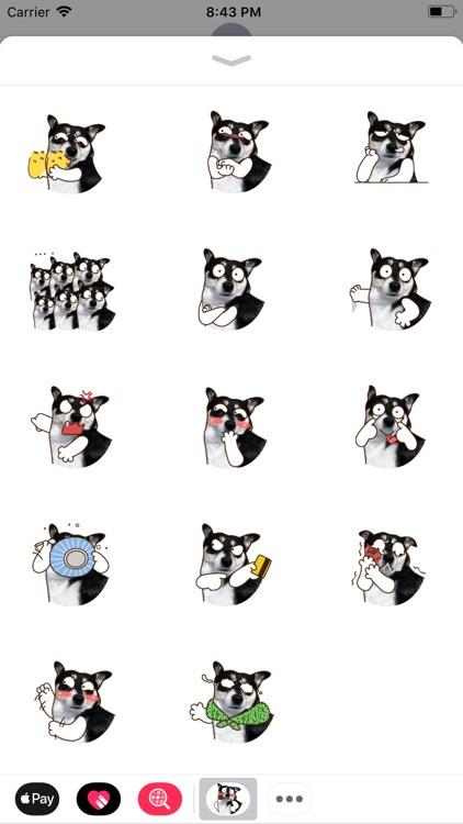 Maddy Husky - Fx Sticker
