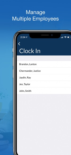 TimeClock ST Screenshot
