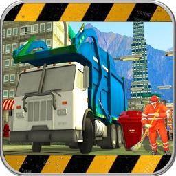 off road Truck Garbage Sim