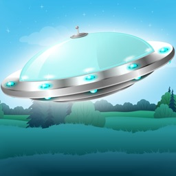 Flying Saucer Free: A tiny UFO's flappy adventure in gravity