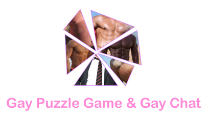 Gay Puzzle Game & Gay Chat screenshot one