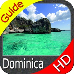 Dominica HD GPS Map Navigator