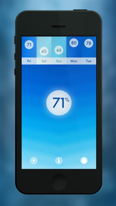 Screenshot #2 for Haze ~ Weather Forecasts