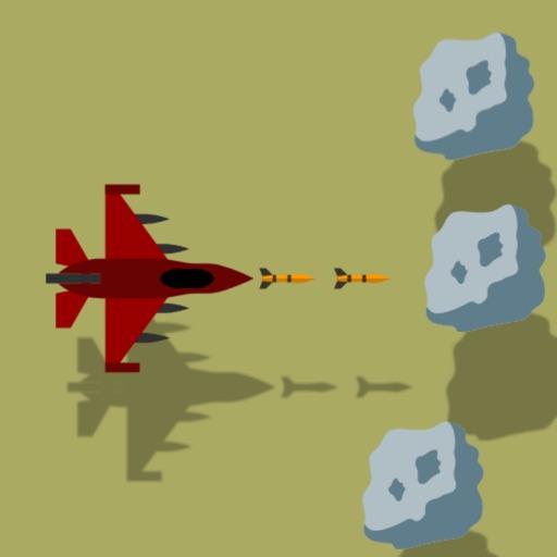 Jet vs Rocks iOS App