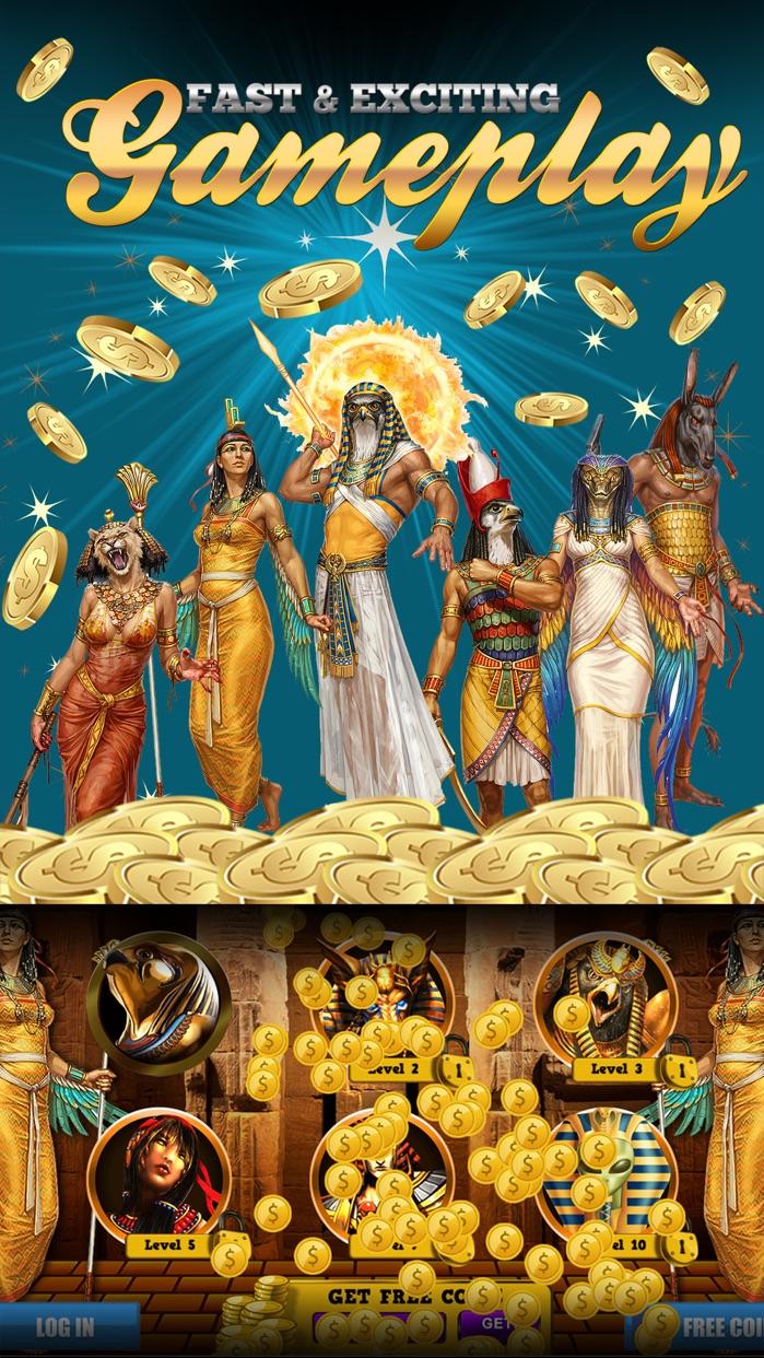 Gods of Egypt Slots Screenshot