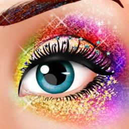 Glitter Makeup Dressing Salon