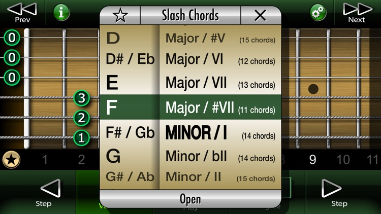 Slash Chords on Guitar screenshot-3