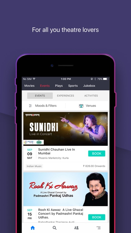 BookMyShow–Movie Tickets,Plays