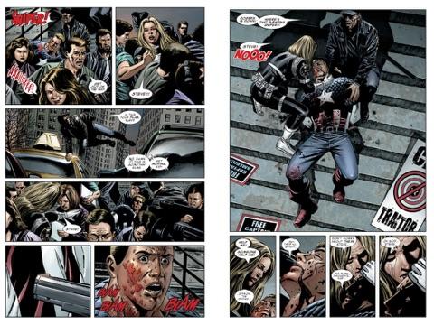 Captain America: The Death of Captain America Tome 1: Death of the Dream