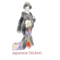 Japanese Drawing Stickers