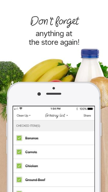Grocery Shopping To Do List screenshot-3