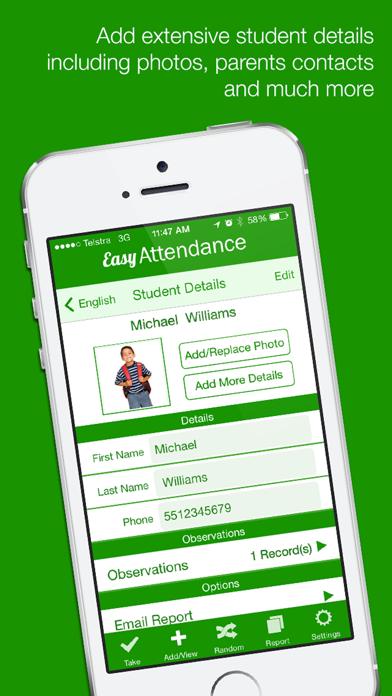 Easy Attendance App Revisión - Education - Apps Rankings!
