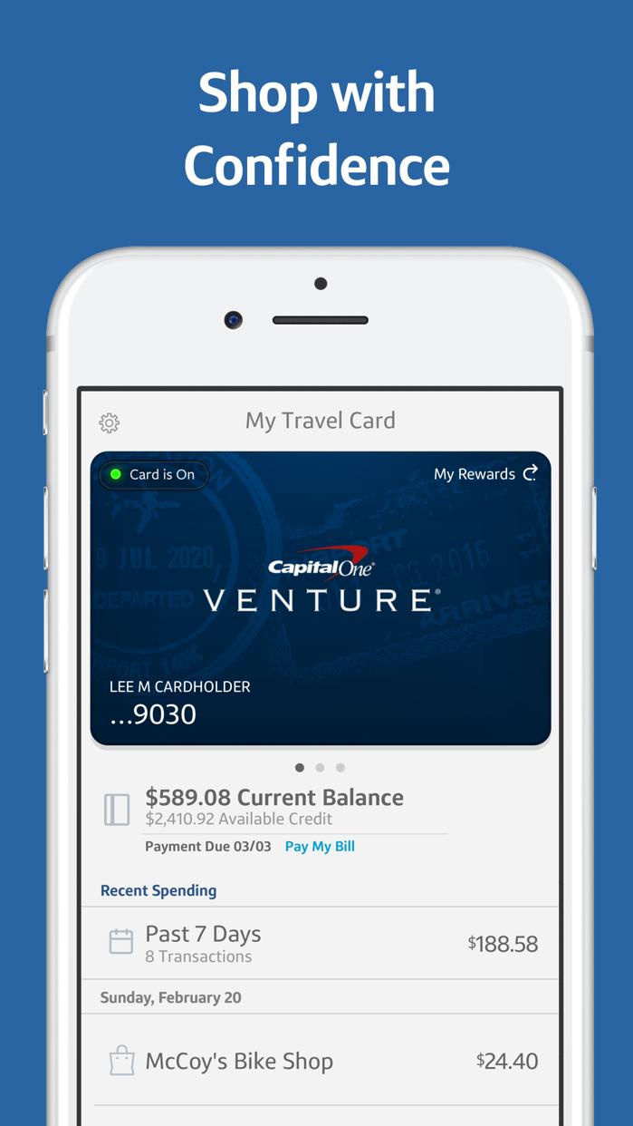 Capital One Wallet Screenshot